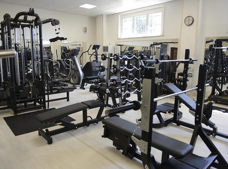 200mq di palestra attrezzature marchio Technogym azienda leader nel settore del fitness alessandra settembre